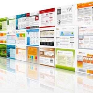 Webdesign, Templates, Werbung, Prsentation, Design, Auswahl